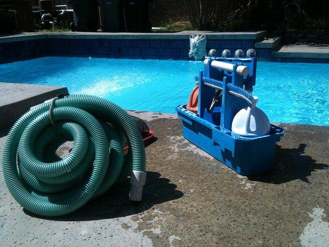 technika k bazénu