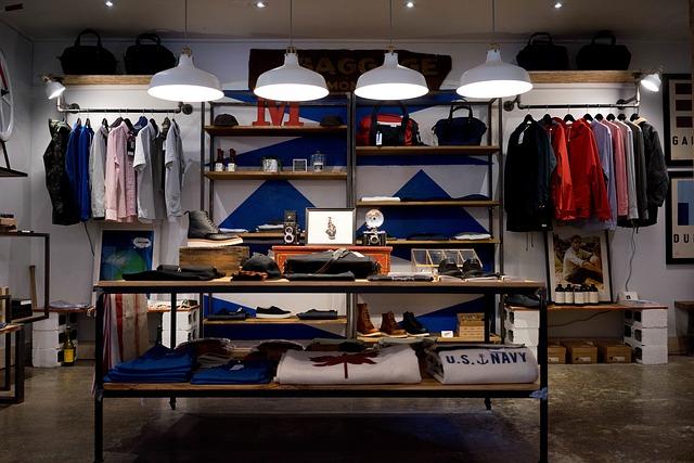 oblečení shop