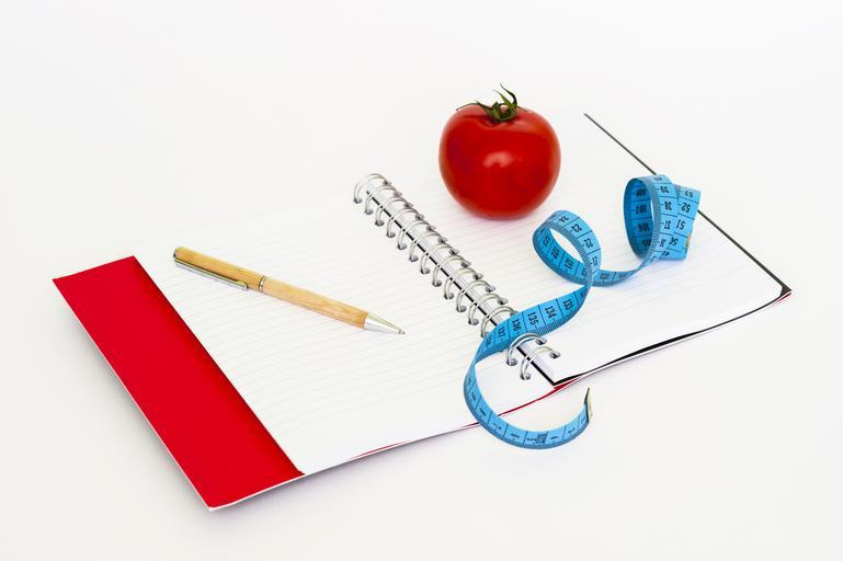 zaznamenávání váhového úbytku