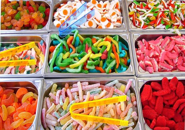 dětské oblíbené sladkosti